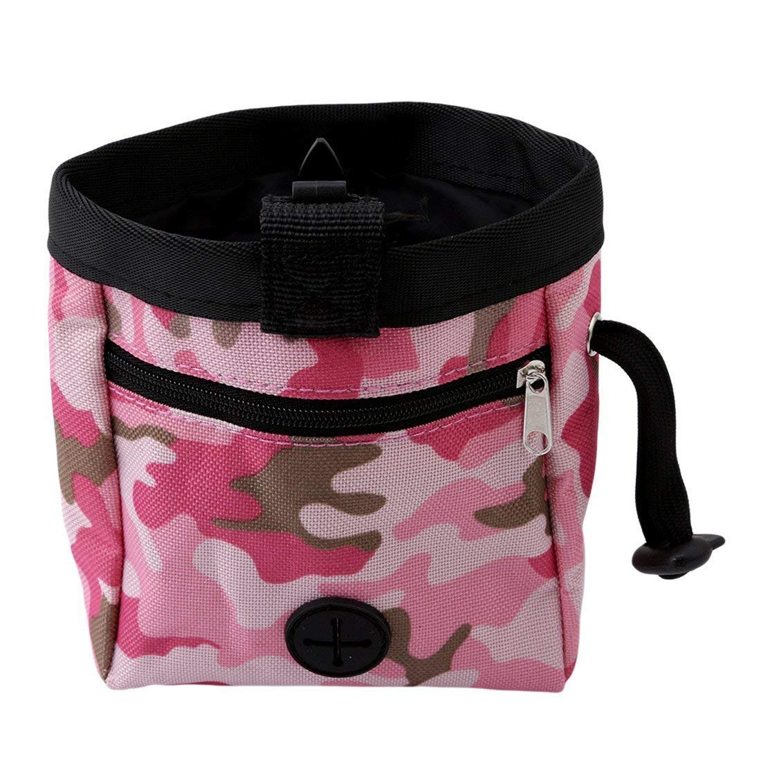 Jesica Pet Dog Portable Snack Food Bag Training Pouch - Pink