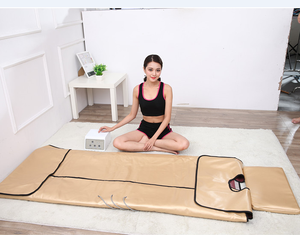 Low EMF Portable Infrared Therapy Sauna Blanket Negative Ion Sauna Blanket, Body Slimming Machine, Spa Heated Sauna Blanket