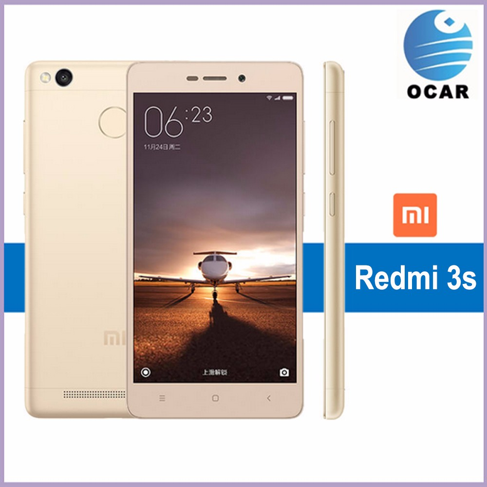 Latest Fingerprint Mi phone Xiaomi Redmi 3s MIUI7.0 3GB RAM 32GB ROM China Android Mobile redmi 3s phone