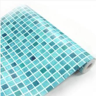 auto adh sif rouleau de papier peint tanche stickers carrelage papier peint pour salle de bains. Black Bedroom Furniture Sets. Home Design Ideas