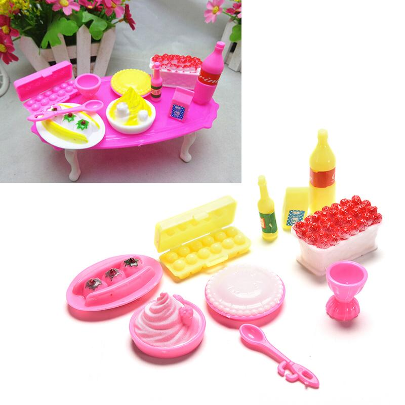Toy Birthday Cake Set