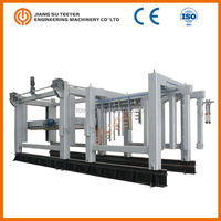 construction building material automatic concrete brick making machine price