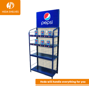 supermarket retail store hook display with wheels garden tool display stand metal instruction hardware parts hook display