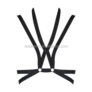 2016 New Black V Neck Strap Ladies Cute Sexy Bustier Crop Tops Wholesale Hot Sale Free Shipping H2655