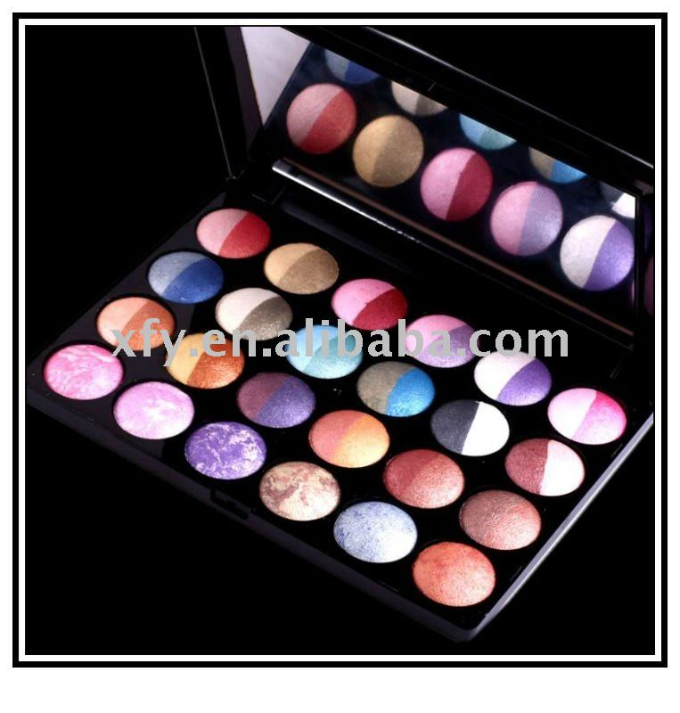 NEW 24 Pcs 48 Color Wet Dry Baked Eye shadow Palette