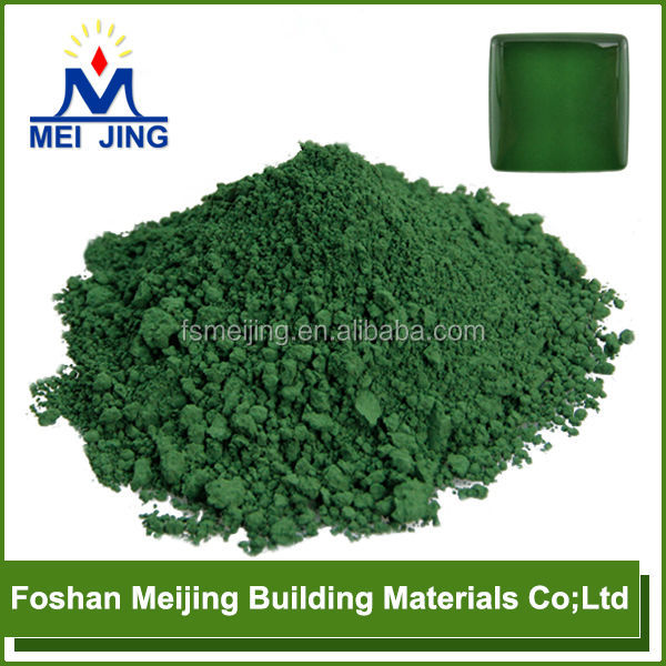 pigment deep green color on sale high temperature pigment for fire glass