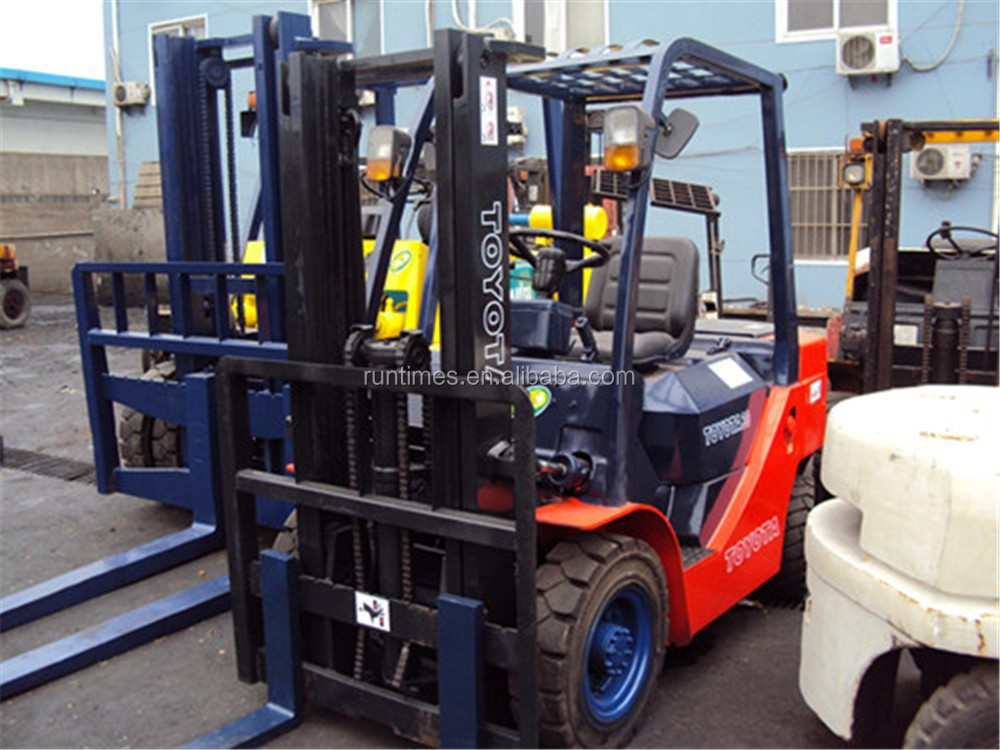 3ton used toyota forklift FD30, 3ton forklift price/lift truck, toyota forklift 3ton in shanghai