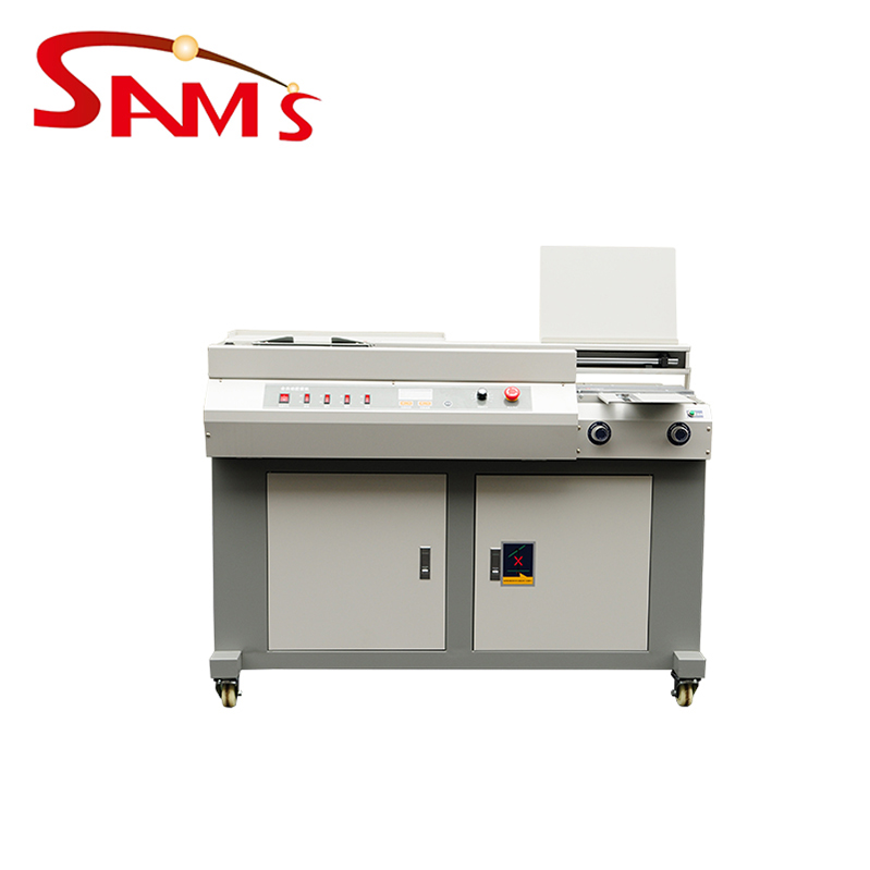 Best paper binder thermal book wireless glue binding machine