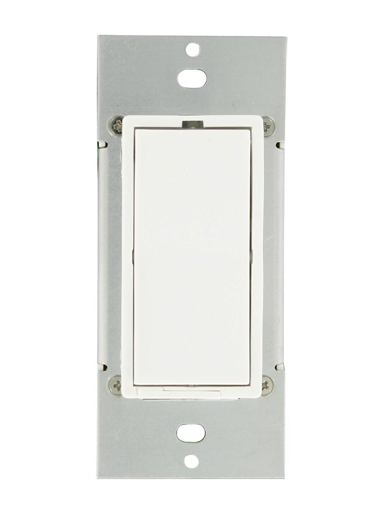 Leviton 35A00-1CFL 300-Watt HLC CFL/LED Dimmer, White