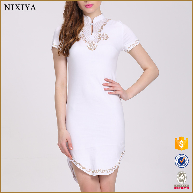 Plus Size Trendy White Dresses Suppliers And Manufacturers At Alibaba
