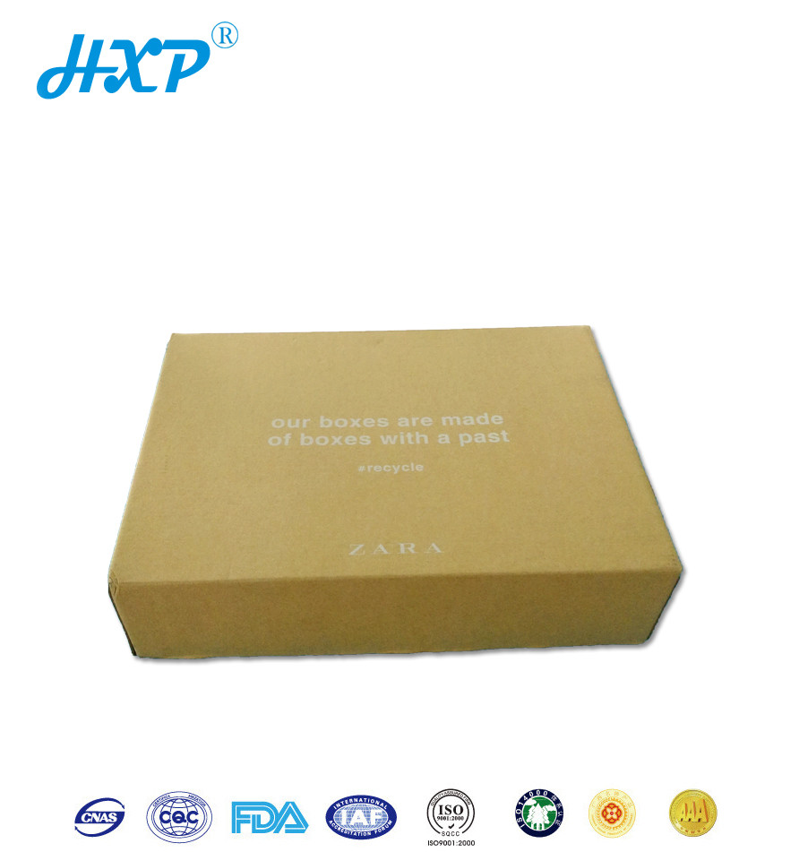 Custom paperboard standard packing box sizes