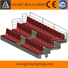 Indoor outdoor gym <span class=keywords><strong>gradinate</strong></span> pieghevole a scomparsa stadio bleacher