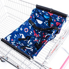 Baby Shopping Cart Hammock for Newborn,Toddler and Twins, Wholesale, Blue Whale