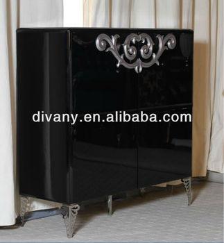 Black Tall Cabinet (ls-563)