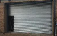 Motorized Folding Doors Industrial High Quality Steel Garage Entry Doors