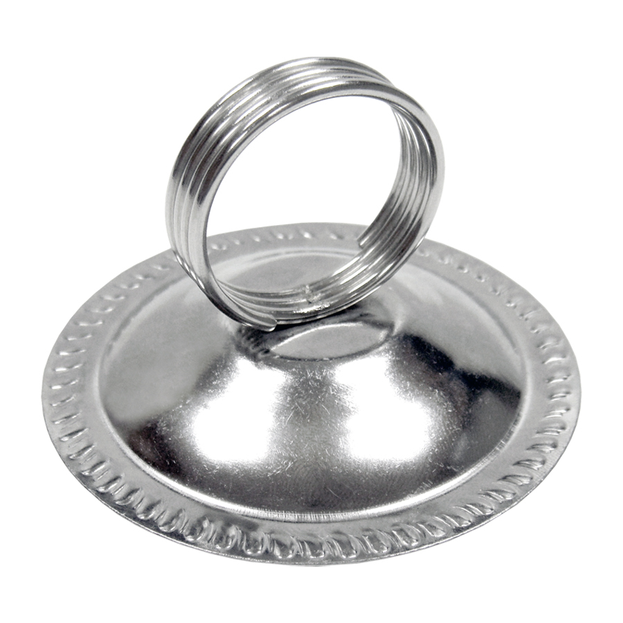 Harp Clip Stainless Steel Table Place Menu Card Holder