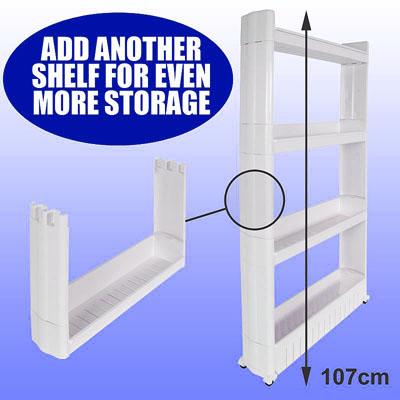 Elegant Slide Out Storage Tower