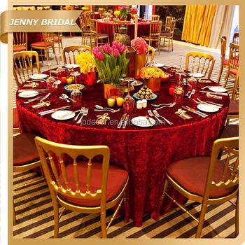 tc039g wholesale burgandy vinyl tablecloths banquet wedding velvet cloth table cloths for sale - Vinyl Tablecloths