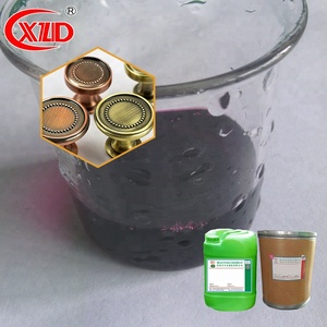 nice and quality Brass Blackening Agent Plating Chemical solution for garment hardware accessory electroplating