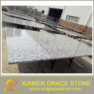 cheap factory price for Spray White / Wave White granite big slab 2800up x 1800up
