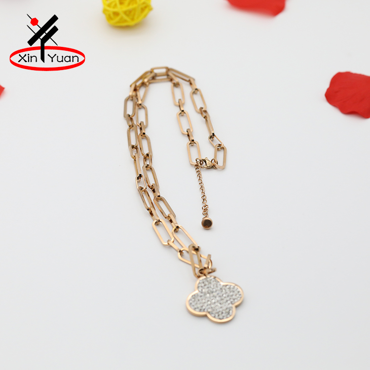 New arrival latest long gold plated chain necklace with best quality