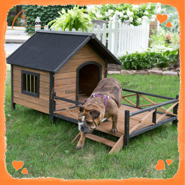 Large design wooden new cheap dog kennel wholesale