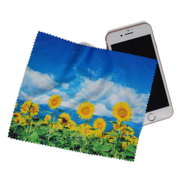 Promotional gift mobile phone screen microfiber cleaning cloth