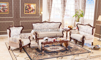 Arabia Style Sofa Set For Living Room French Style Comfortable