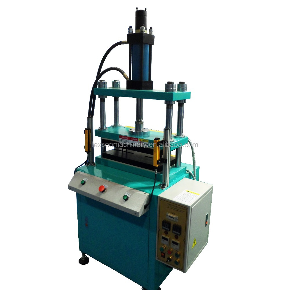 China Factory Low Cost 20 Ton Hydraulic Press Machine Four-column Heated Plates Pressing Machine PET Membrane Switch Machine