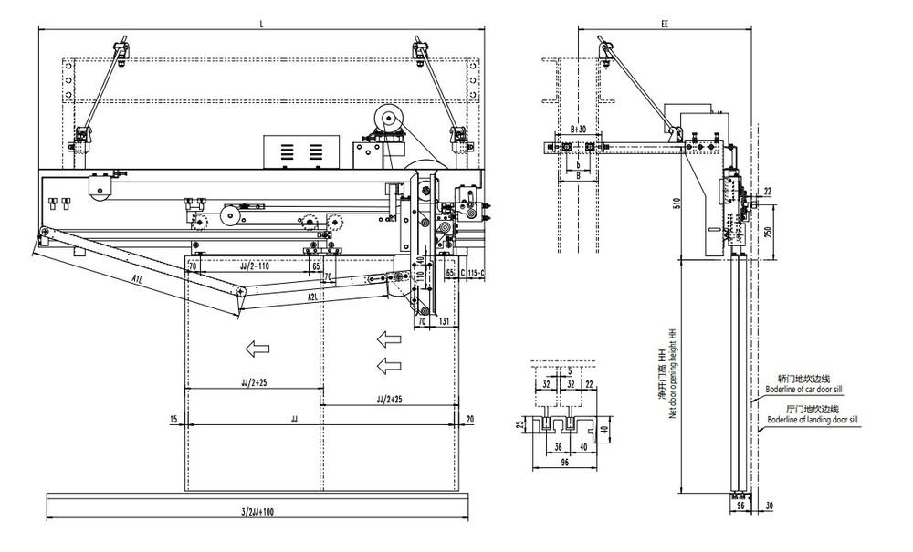 Motorized Door Mechanism Elevator Door Closer  sc 1 st  Alibaba & Motorized Door Mechanism Elevator Door Closer - Buy Elevator Door ...