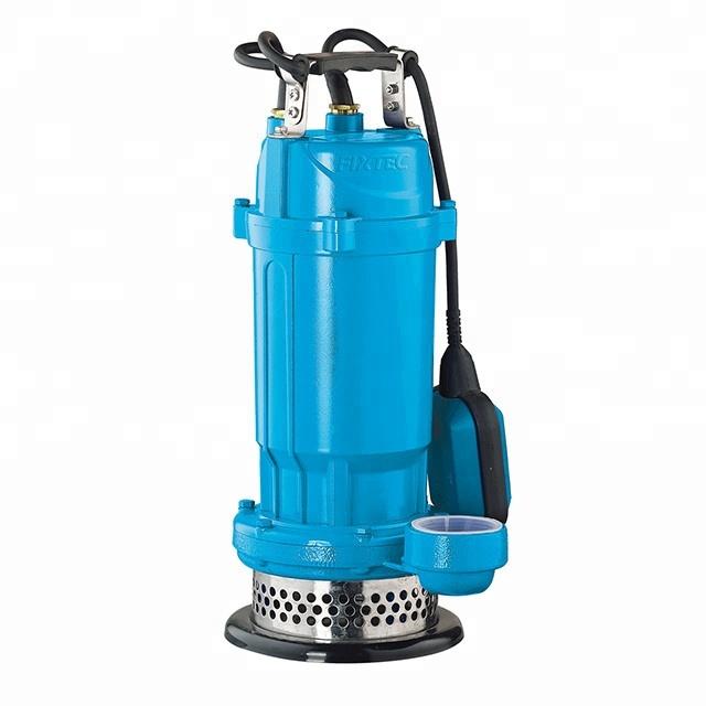 Электроинструменты FIXTEC 750 Вт 1/2HP мини Электрический погружной водяной насос 32,5 м Насос подъемник