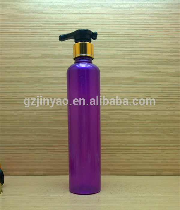 100ml 3.3oz round plastic bottles for hair conditioner essential oil