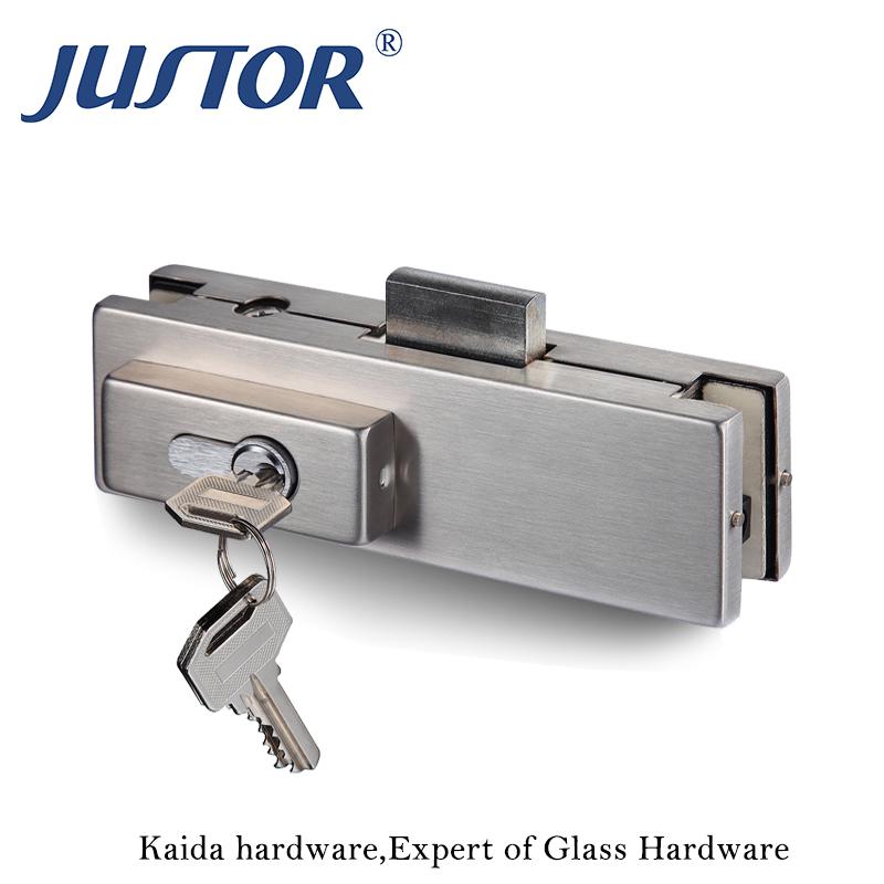 Tür & Fenster Zubehör Sicher Glasbeschläge Eckbeschlag Tastensperre ...