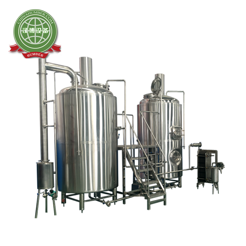 10hl micro brewery con due vessals 1000l brewhouse