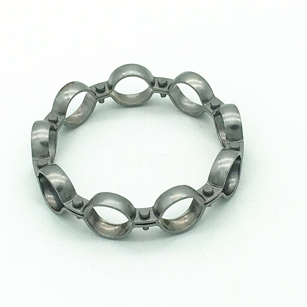 Factory direct reliable custom steel ball cage bearing retainer