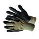 13G Cut Resistant Arc resistant Liner Micro Foam Black Neoprene Palm coated Gloves With Dots