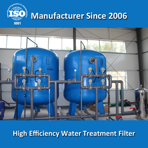 Industrial Rapid Pressure Sand Filter Water Treatment Filter