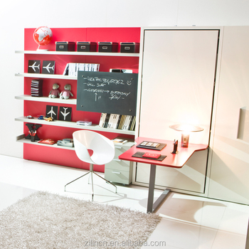 Transformable Wall Beds,Foldable Beds With Desk,Folding Beds Transformable  Furniture
