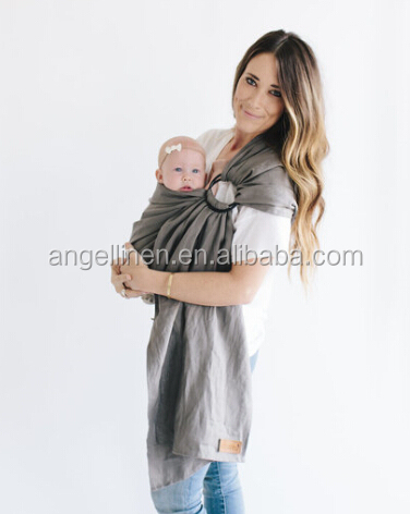 high quality strong aluminum round rings baby sling /baby carrier