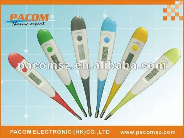high quality animal style rigid digital thermometer