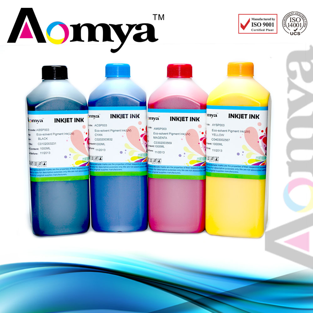 Aomya high quality eco solvent ink for XAAR/Konica/Polaris printing head