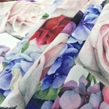 75D Polyester Clothing DuBai Chiffon Dress Digital Print Plain Polyester Fabric