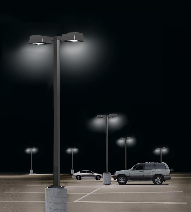 Fulandy Patent New Led Parking Lot Light / Widely Use Led