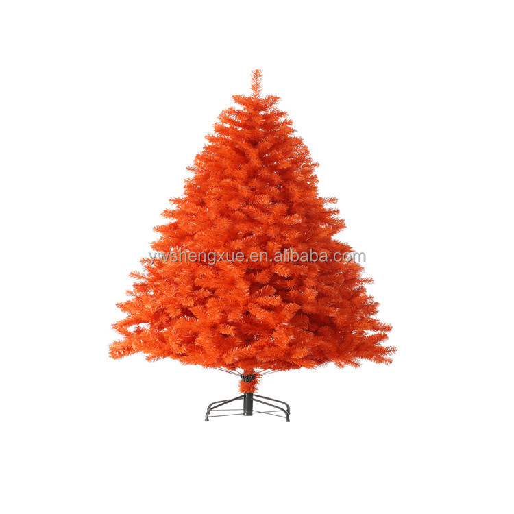 2016Wholesale artificial colorful christmas tree environmental PVC christmas tree outdoor decoration ornament xmas tree