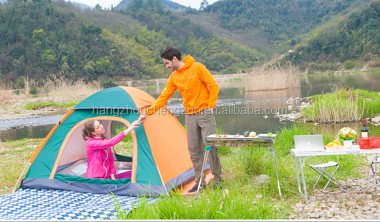 Hot Selling Automatic Pop Up 3-4 Person Waterproof Outdoor Camping Tent, TXZ-0003,Four Seasons Beach Tent