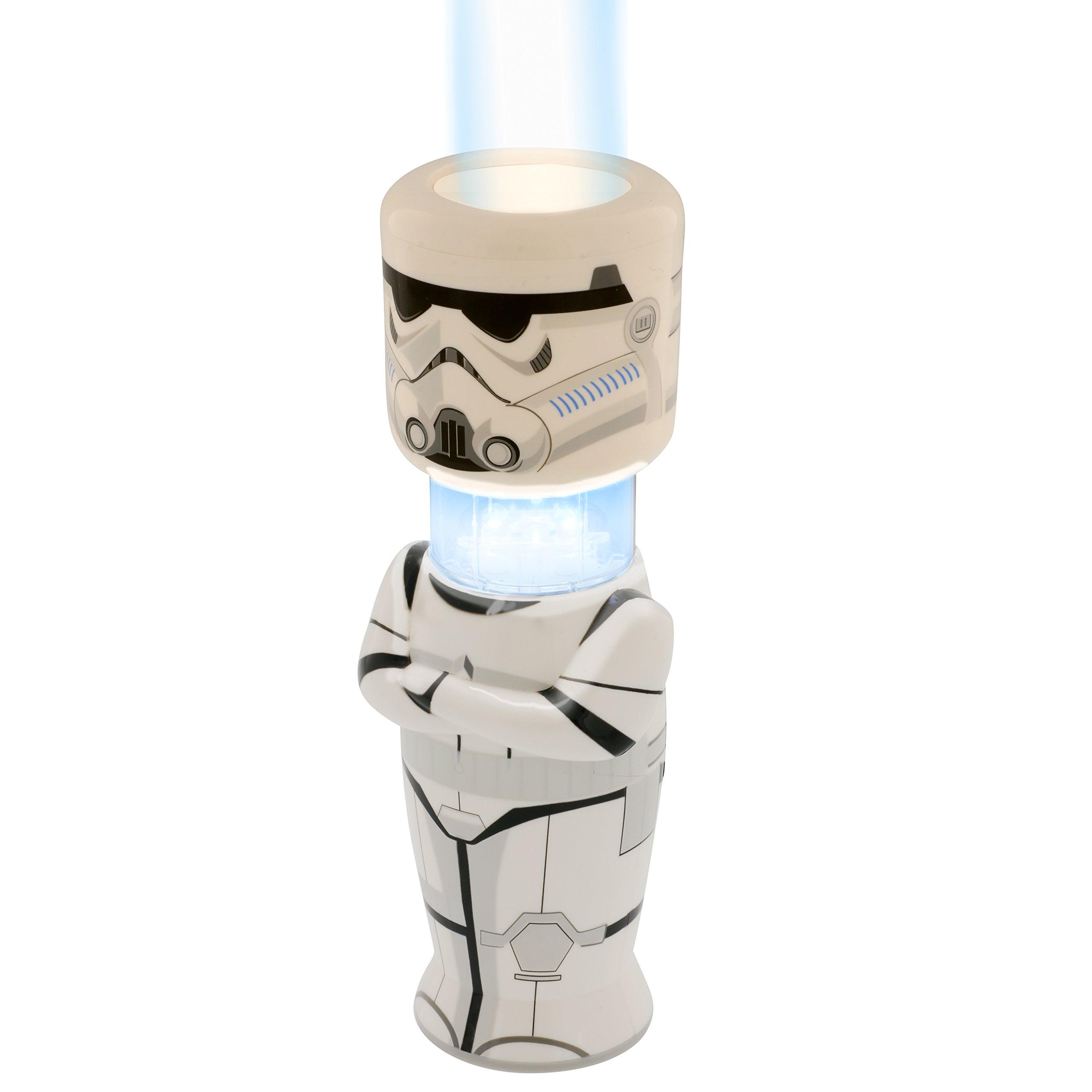 Star Wars Rebels Stormtrooper Hand Held Lamp Flashlight - Bright LED Light Multi-function Lantern w/ Timer