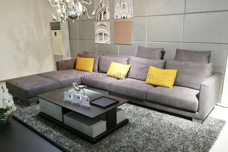 Factory Direct Supply High Quality Furniture China Bonded Leather Sofa Or 7  Seater Sofa Set For Part 46