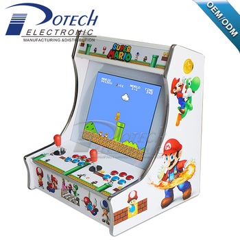China Mini Bartop Arcade With Newest Pandora Box 4s Plus 815 Games