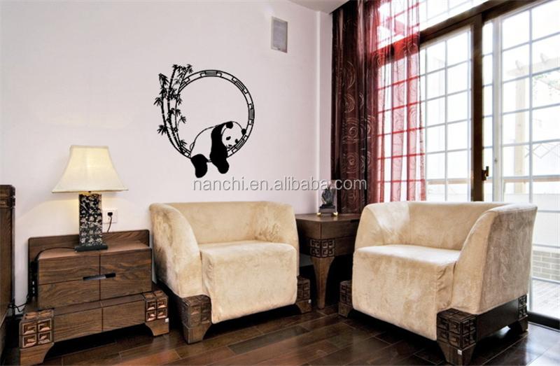 . Cute Sleeping Panda Wall Sticker Bedroom Children Removable Wallpaper  Living Room Wall Paper Trendy Wall Stickers Home Decor   Buy Cute Sleeping  Panda