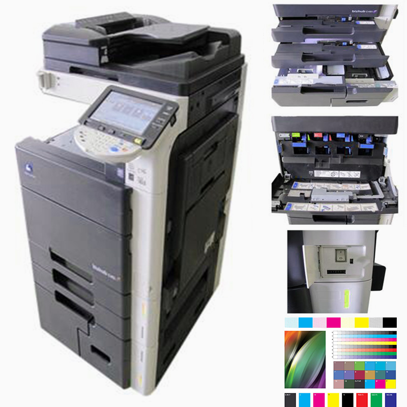 Laser printers photocopiers for Konica Minolta Bizhub C451/550/650 Export used copiers for sale